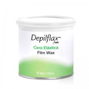 DEPILFLAX 100 elastinis vaškas depiliacijai, 500 ml