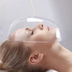 Plastikinė kaukė veido procedūroms