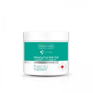"""BIELENDA """"PodoCall Therapy"""" atpalaiduojanti pėdų vonios druska 500 g"""