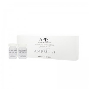 APIS ampulės A drėkinamoji medžiaga Hyaluron 4D 5x5ml