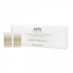 APIS ampulės. slyvų koncentratas 5x5ml