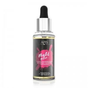 APIS NIGHT FEVER CUTICLE Regeneruojantis odelių ir nagų aliejus su vitaminu E, 30 ml