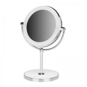 Makiažo veidrodis su apšvietimu  MC60 Su baterija