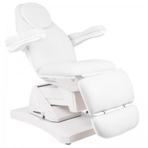 Elektrinė kosmetologinė kėdė - lova Basic 169, Balta