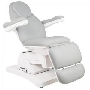 Elektrinė kosmetologinė kėdė - lova Basic 169, Pilka