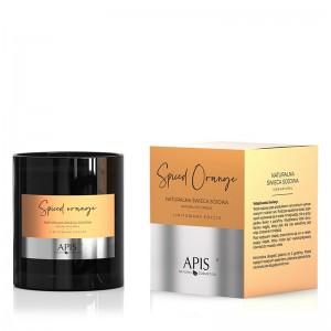 APIS Natūralus apelsinų kvapo sojos vaškas  220g