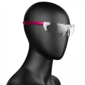 Apsauginiai akiniai UVEX X-FIT Rožiniai