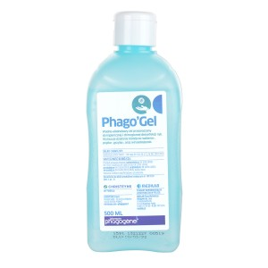 Rankų dezinfekavimo gelis  PHAGO`GEL 500ML
