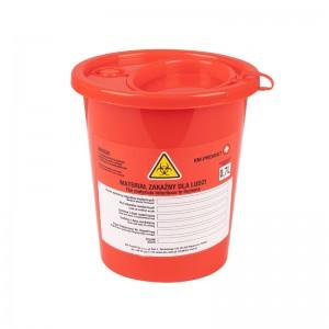 Medicininių atliekų konteineris 0,7L