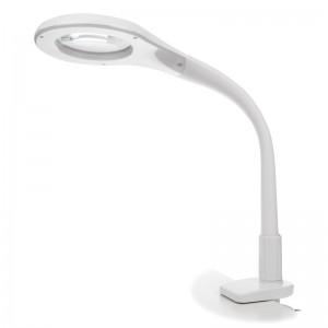 Kosmetinė lempa LED 7W su padidinamuoju stiklu CLIP BC-8239C
