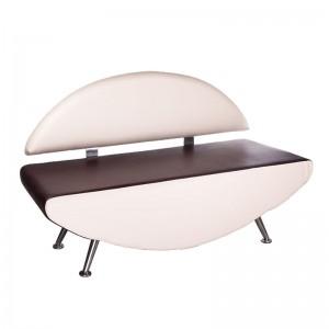 Kirpyklos laukiamojo sofa Carini BD-6710 Kreminė - ruda