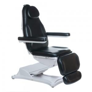 Elektrinė kosmetologinė kėdė - lova MODENA BD-8194 Juoda