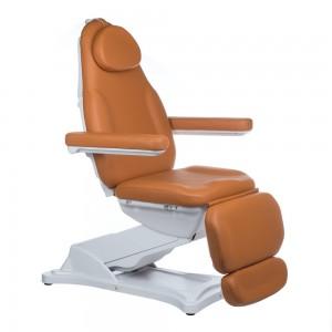 Elektrinė kosmetologinė kėdė - lova MODENA BD-8194 Šviesiai ruda