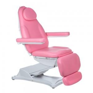 Elektrinė kosmetologinė kėdė - lova MODENA BD-8194 Rožinė