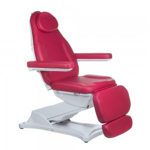 Elektrinė kosmetologinė kėdė - lova MODENA BD-8194 Avietė