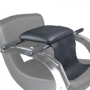 Vaikiškas kirpyklos kėdės paaukštinimas BD-9803 Juodas