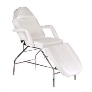 Kosmetologinė kėdė - lova BR-3351 Balta