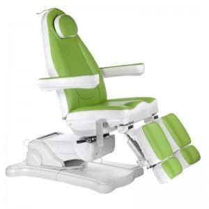 Elektrinė kosmetologinė kėdė - lova pedikiūrui Mazaro BR-6672A Žalia