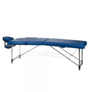 Aliuminis sulankstomas masažo stalas BS-723 Mėlyna