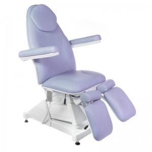 Elektrinė kosmetologinė kėdė - lova pedikiūrui AMALFI BT-156 Levanda