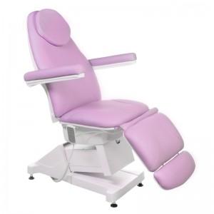 Elektrinė kosmetologinė kėdė - lova AMALFI BT-158 Rausva