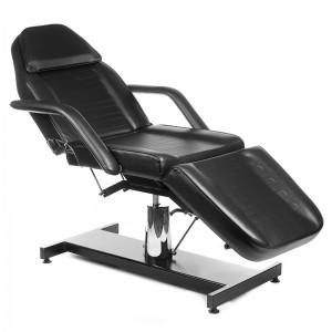Hidraulinė kosmetologinė kėdė - lova BW-210 Juoda