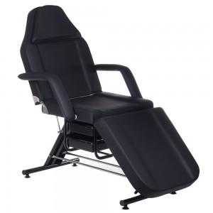 Kosmetologinė kėdė - lova BW-262A Juoda