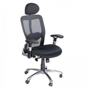 Kliento kėdė CorpoComfort BX-4029A Juoda