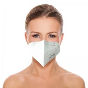 10x KN95 FFP2 apsauginė kaukė CE sertifikuota