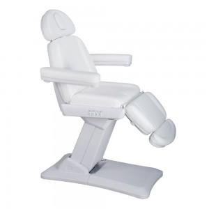 Elektrinė kosmetologinė kėdė - lova BARI Balta
